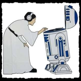 Princess mixing it up on the latest R2-D2 model turntable. #djculture #turntables http://www.pinterest.com/TheHitman14/dj-culture-vinyl-fantasy/