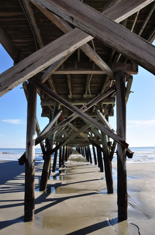 22 best images about cherry grove beach on pinterest for North myrtle beach fishing pier