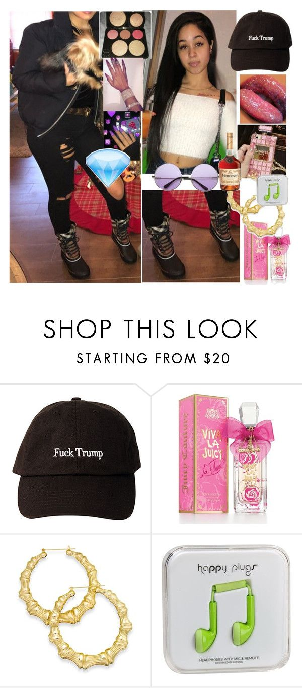 """Play for keeps music video"" by diamonddolll ❤ liked on Polyvore featuring Juicy Couture, Thalia Sodi, Happy Plugs and INDIE HAIR"