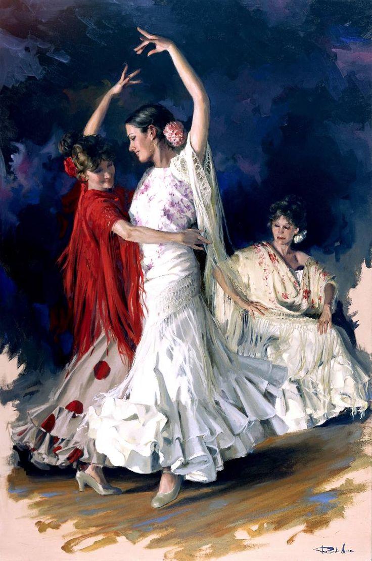 """""""Bailaoras"""" by Ricardo Sanz."""