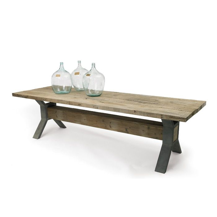 natural wood coffee table hipster w steel frame free shipping