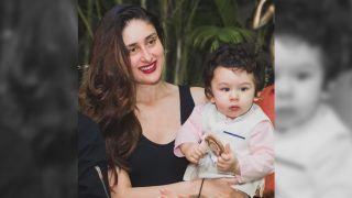 This New Picture Of Kareena Kapoor Khan Holding Taimur Ali Khan On His First Birthday Is Too Cute For Words