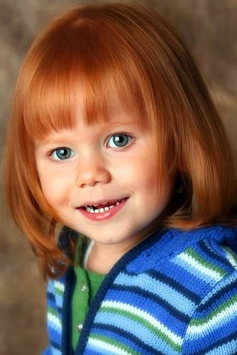 """Katelyn Kanuch, 3, of Fargo is included in the children's book """"Little Redheads Across America"""" by Nicole Giladi, published by Redhead Publishing LLC."""