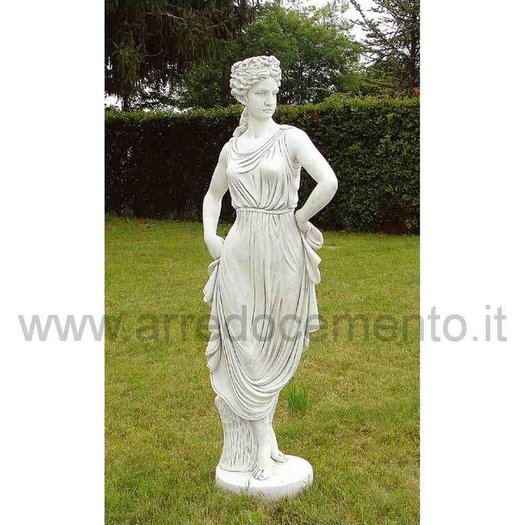 Statua da giardino paolina in cemento