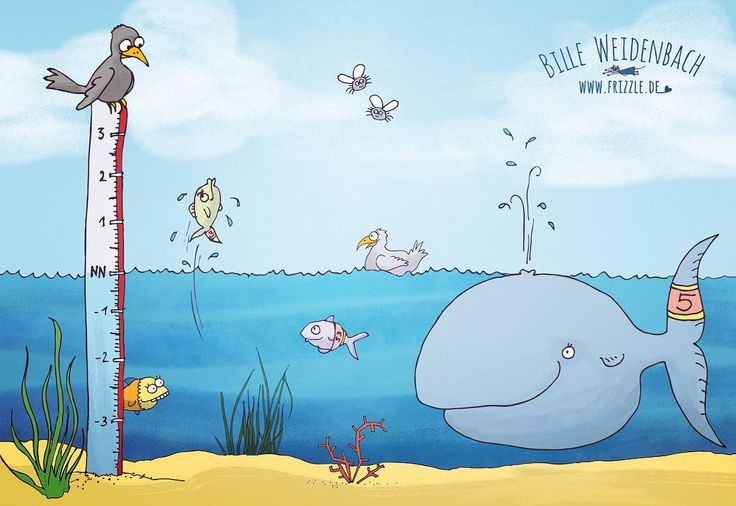 """159/365 Thema heute ist TAG AM MEER - da krame ich mal eins hervor aus meinem Alliterationen-Abc-Buch """"Wortschätze"""": """"Wal Wolfgang will Weit-raus-Sprung-Weltmeister werden"""".  . . . . #365doodlesmitjohanna @byjohannafritz  #kidlitart #tagammeer #bythesea #fisharejumping #wale #kinderbuchillustration #paradies #paradise #ocean #underthesea #illustratorlife #illustrate #fische  #drawnbyhand #illustratorenorganisation #doodle #doodleart #doodledaily #drawdaily #sports #bookillustration…"""