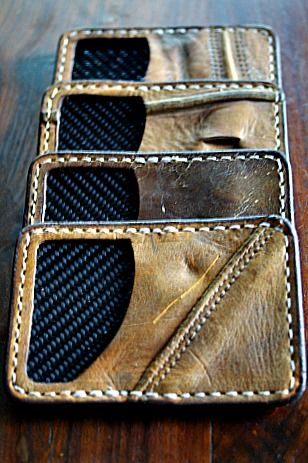Sneak Peek At The Limited Edition Front Pocket Wallet Series, Built From Vintage Baseball Gloves & Lined w/ Real Carbon Fiber Always Made In America--From Your Friends at Vvego International http://www.vvego.com/custom.htm Come See us
