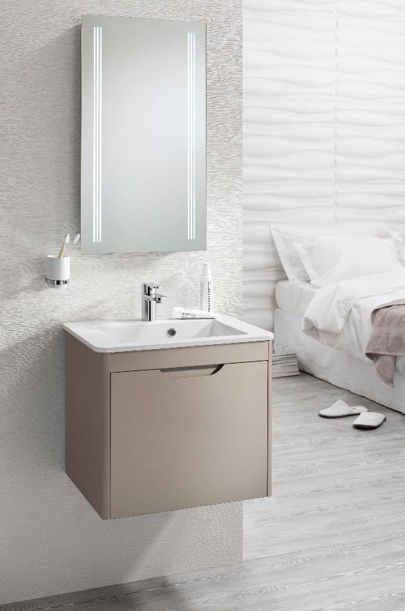 Photo Album Website Big on style but pact in size Bauhaus Solo Unit u Cast Mineral Marble Space Saving BathroomSolo