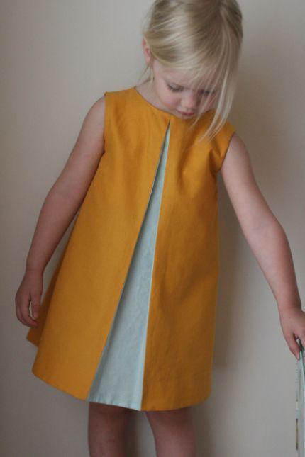 Beautifully simple girls dress: