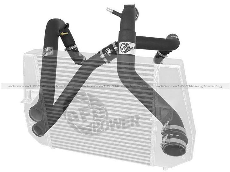 aFe Bladerunner 2011-2014 Ford F-150 EcoBoost 3.5L GT Series Intecooler Black Tubes (Hot and Cold Side)