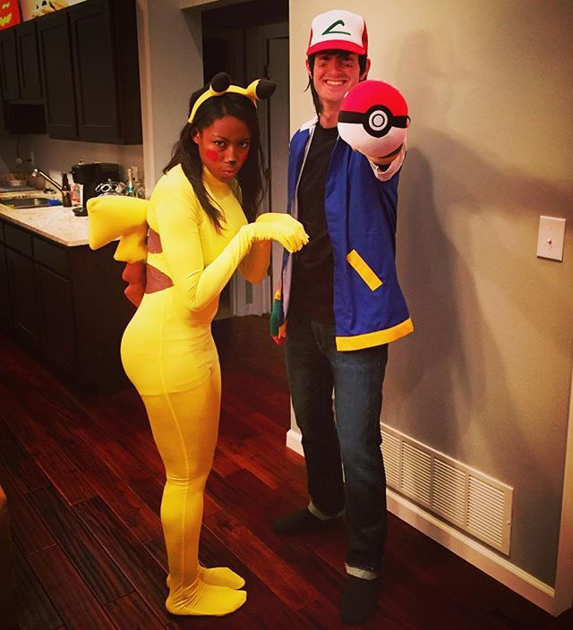 120 Creative DIY Couples Costumes for Halloween  sc 1 st  Pinterest & 26 best Pikachu costume ideas images on Pinterest   Carnivals ...