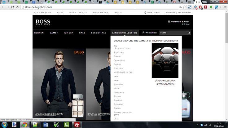 Hugo Boss www.hugoboss.com