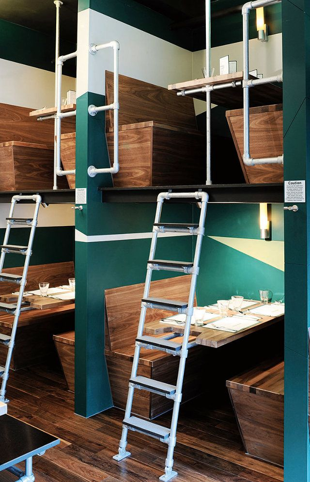 2 | 12 Restaurants With Mouthwatering Decor | Co.Design | business + design OUTLINE, BANGALORE EXPRESS, LONDON
