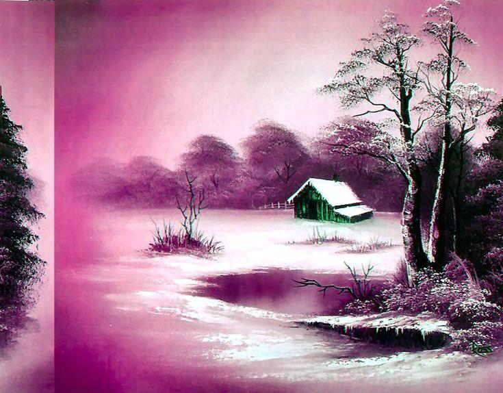 Frozen Beauty ~ Bob Ross