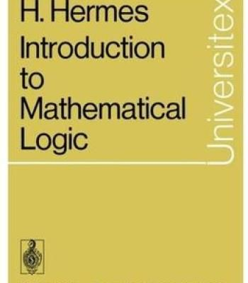 Introduction To Mathematical Logic PDF