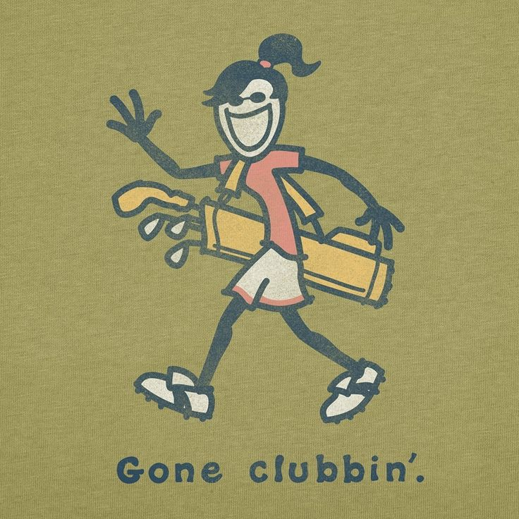"Golf.... ""Gone Clubbin!"" I'm so glad the hubby pushed me into giving this sport a try. I LOVE it!!"