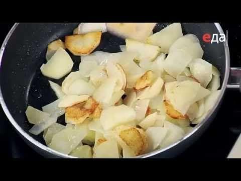 Жареная картошка тонкими ломтиками рецепт от шеф-повара / Илья Лазерсон - YouTube