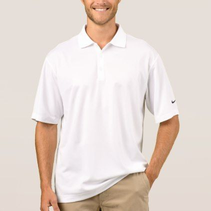 Men's Nike Dri-FIT Pique Polo Shirt - anniversary cyo diy gift idea presents party celebration