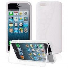 Funda iPhone 5C - Gel con Soporte Transparente  AR$ 54,23