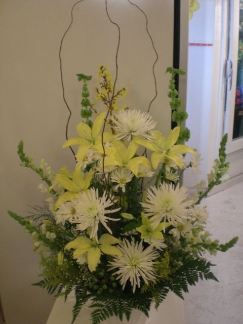 http://www.unny.com It's beautiful funeral flowers arrangement for delivery.
