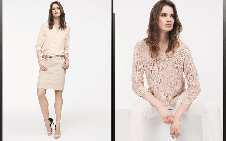 Claudia Sträter spring/summer 2014 campaign with Dutch top model Rianne ten Haken.