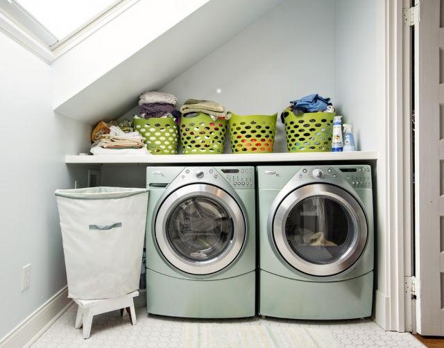 die besten 25 waschmaschine und trockner ideen auf pinterest waschk che aufr umen frontlader. Black Bedroom Furniture Sets. Home Design Ideas