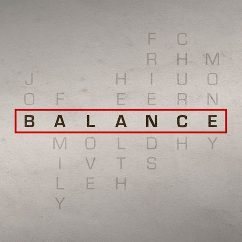 Balance Sermon Series Idea