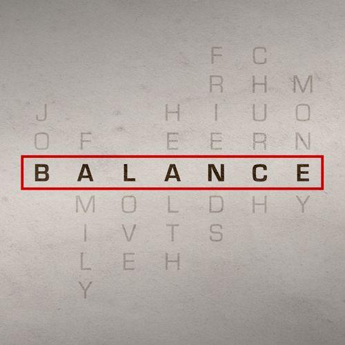 Balance Sermon Series Idea