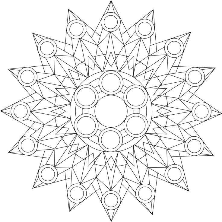 93 Best Ausmalbilder Und Mandalas Images On Pinterest