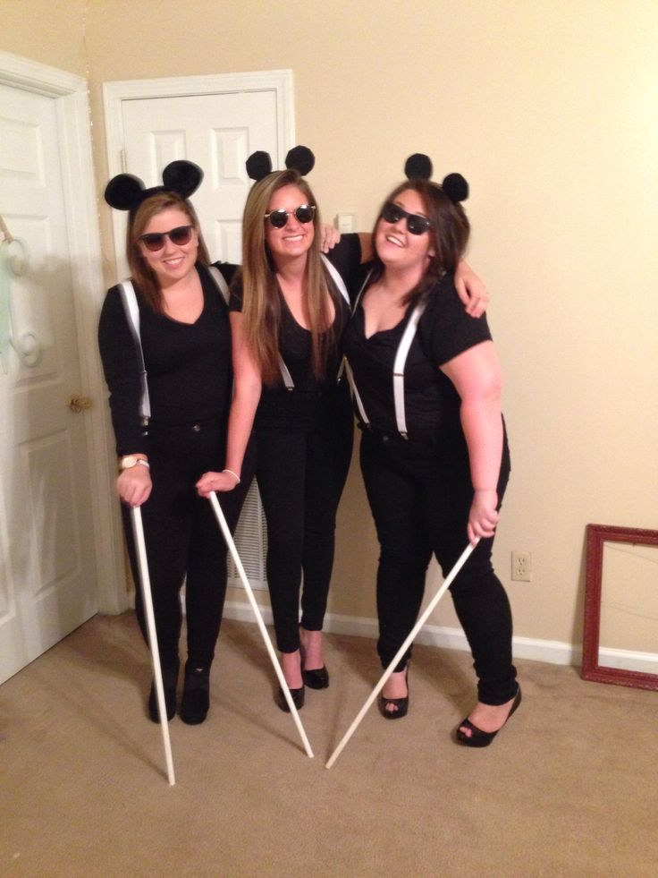 Cheap dress up costumes 3 blind