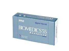 Cooper Vision Biomedics 55 Evolution  lunare 6 lentile / cutie