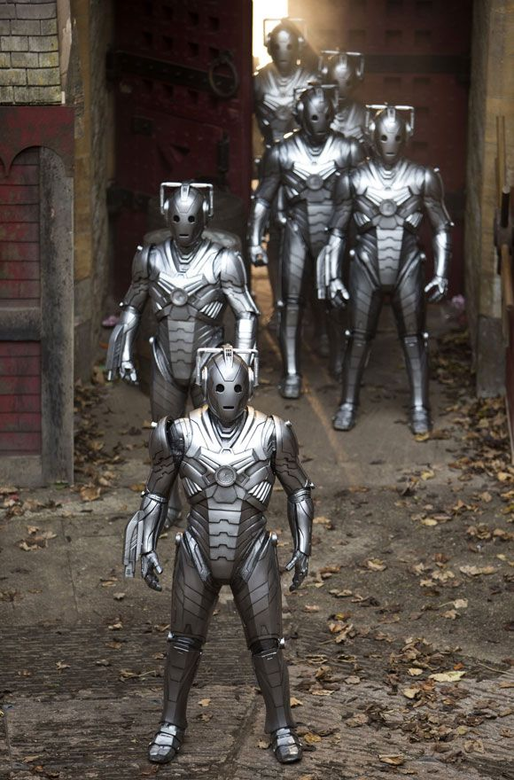 Cybermen (Nightmare In Silver): best design yet?