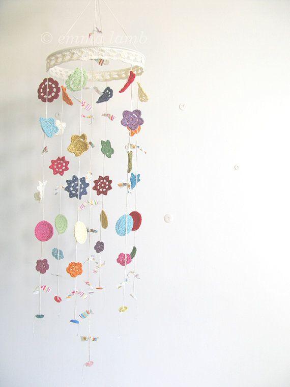 Emma Lamb beautiful crochet mobile from etsy