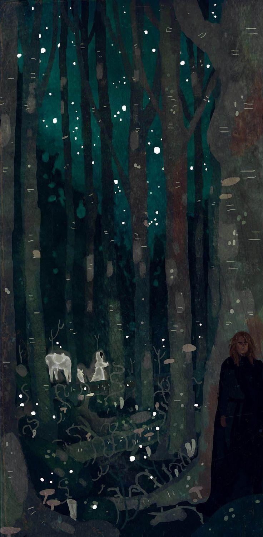 Nan Elmoth by Manadhiel.deviantart.com on @deviantART #faerie
