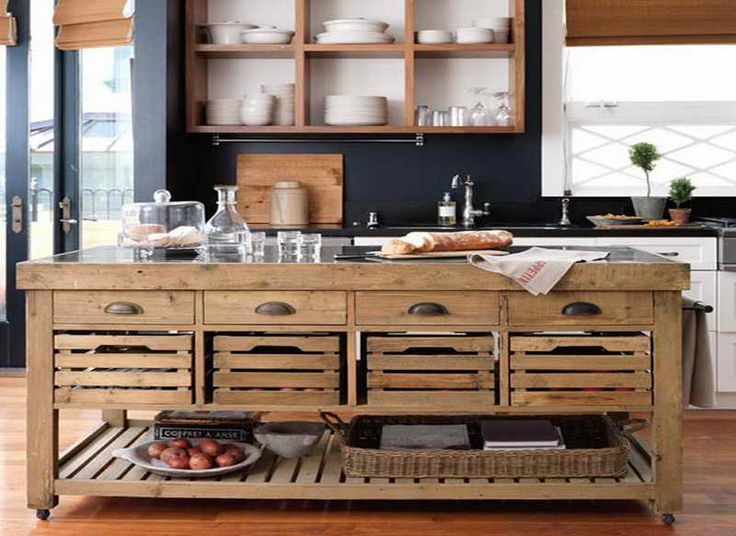 Best 25 Portable kitchen island ideas on Pinterest  : d1f015e319334d9efeb9633664a93d40 stone kitchen island mobile kitchen island from www.pinterest.com size 736 x 536 jpeg 70kB