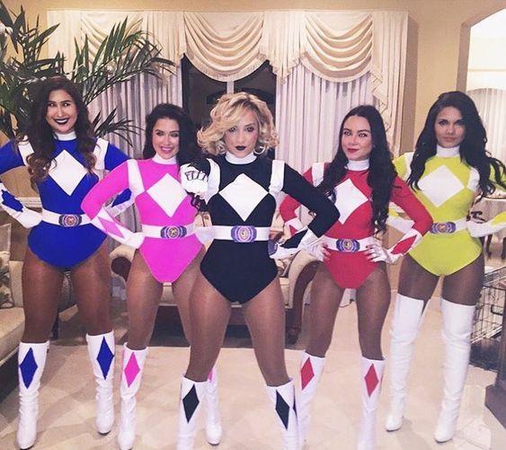 70a2b9301e0393 Fantasia Power Ranger | halloween em 2019 | Fantasias femininas ...