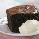 Gâteau au chocolat ultra moelleux   – Zoete baksels