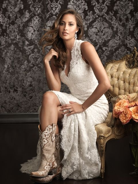 """Charlotte"" Lace sheath wedding dress with separate satin slip underneath Two dresses in one"