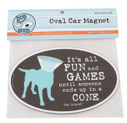 Abel pet supply car magnet fun games