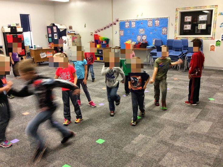 High and low activities for kindergarten