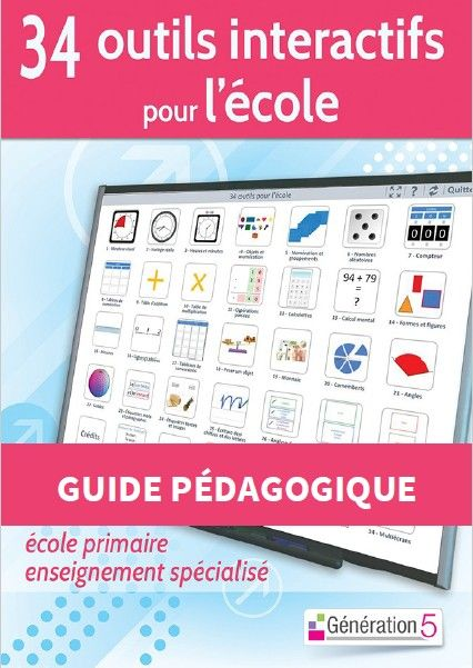 Ce logiciel réalisé par Christophe Gilger, directeur d'école, maître formateur, référent numérique, webmaster de ClasseTice propose 34 o...