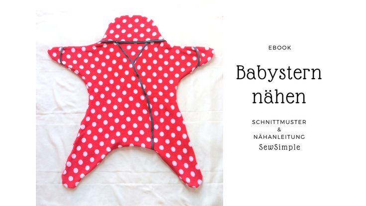 eBook: Babystern nähen | Schnittmuster und Nähanleitung
