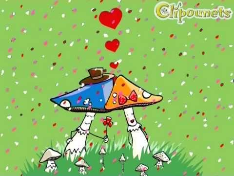 Les noces des champignons - karaoke - Clipounets - YouTube