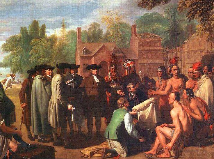 penn treaty with indians | Penn Treaty with Indians