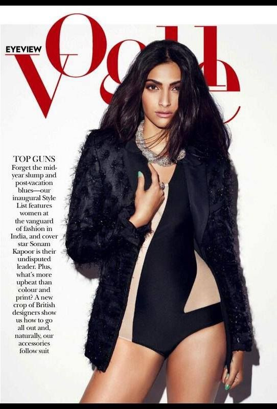Sexy Sonam Kapoor Hot Wallpapers HD | Vogue Magazine Hot Photoshoot