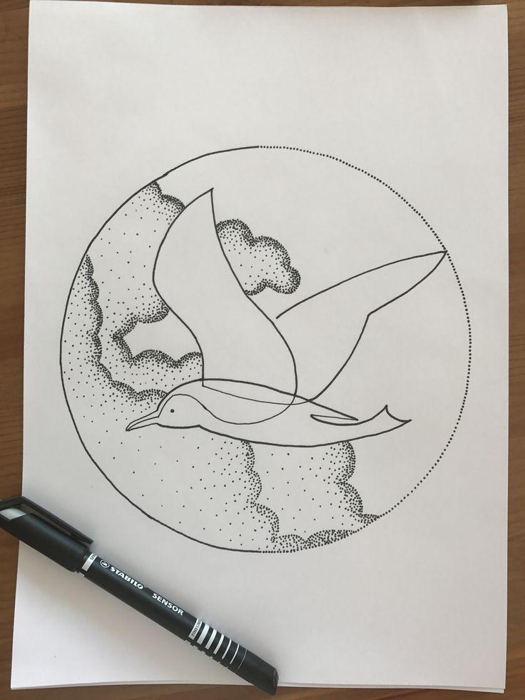 The 4 elements - air (based on a Mo Ganji tattoo )