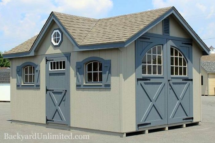 Sheds | Victorian | Backyard Unlimited