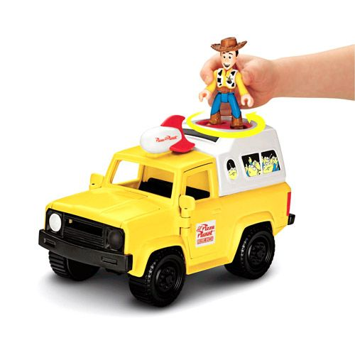 fisher price imaginext pizza planet truck vehicle vehicles trains remote control walmart. Black Bedroom Furniture Sets. Home Design Ideas