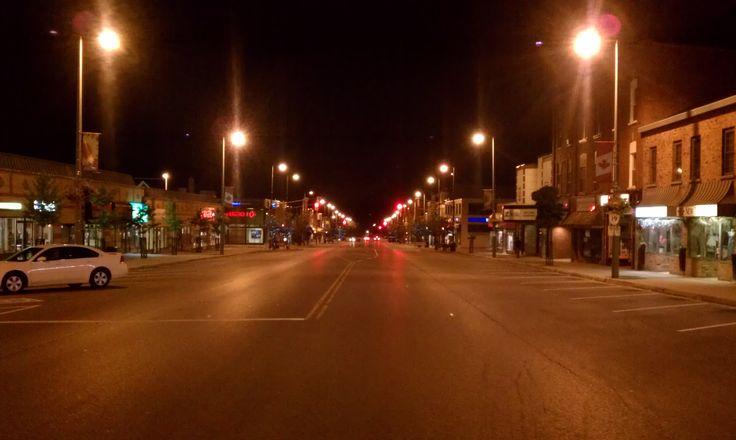 Broadway in Tillsonburg.