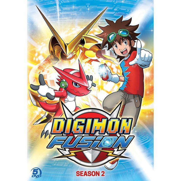 Digimon fusion:Season 2 (Dvd)
