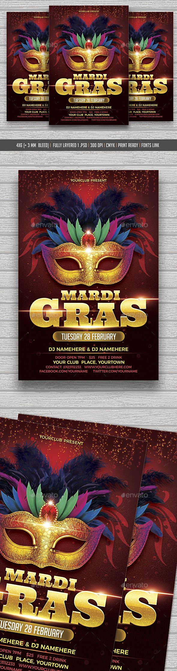 best images about flyers party templates ideas collection mardi gras flyer